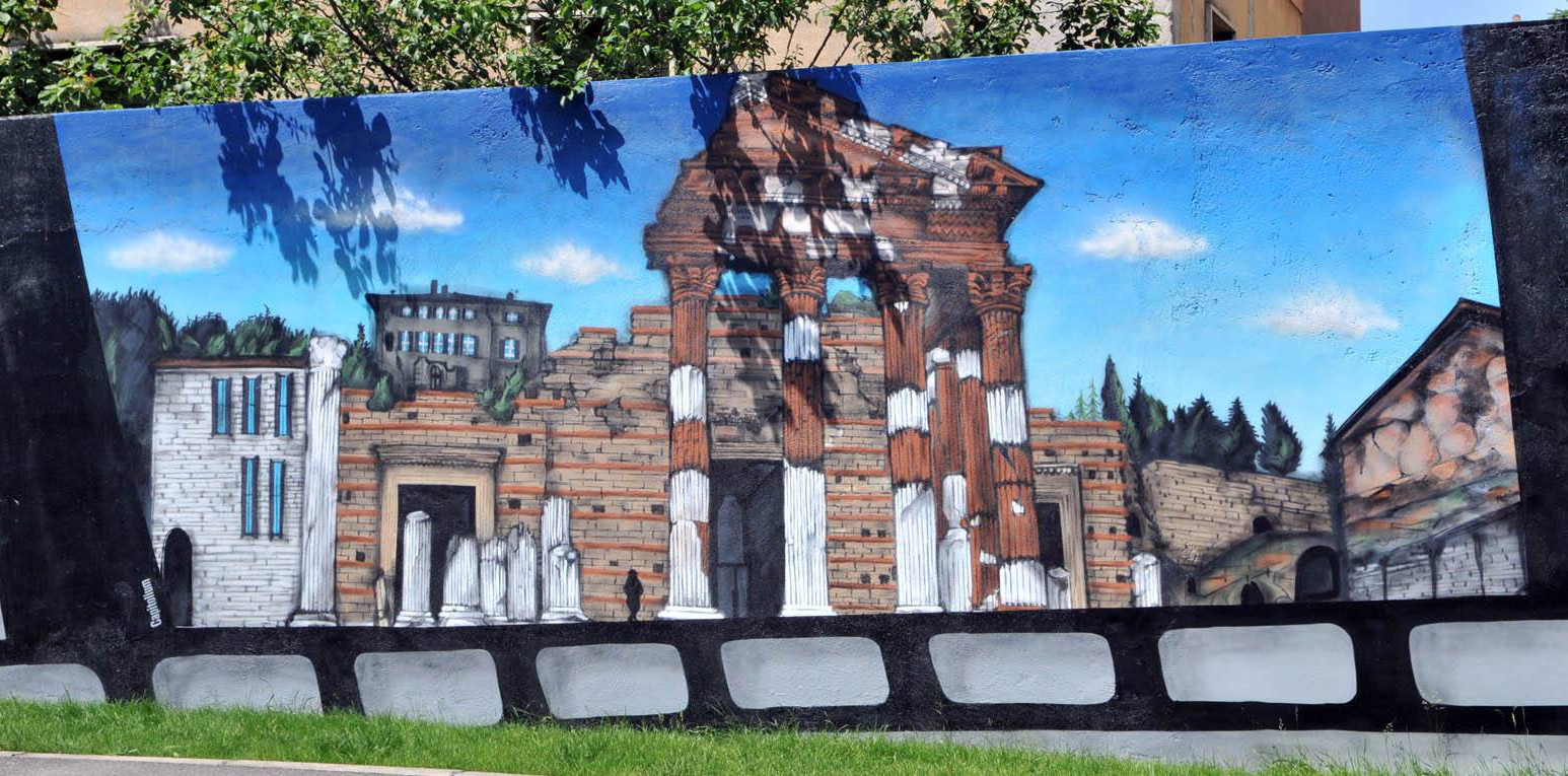 Murales Viale Duca D'Aosta